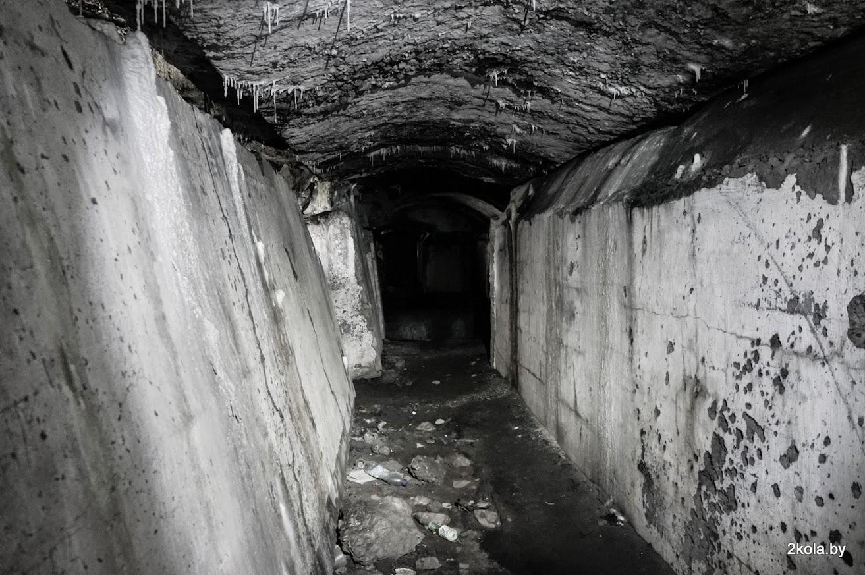 Унутры Крапасны форт №2