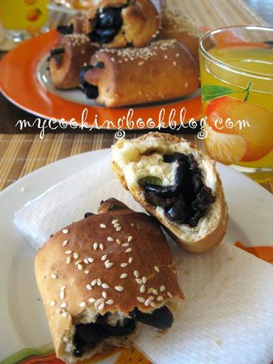 Маслинови рула с портокалов сок и кора
