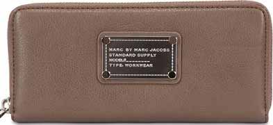 Top Summer Accessories That Will Make You Stand Out | Marc by Marc Jacobs Long Trifold Classic Q wallet