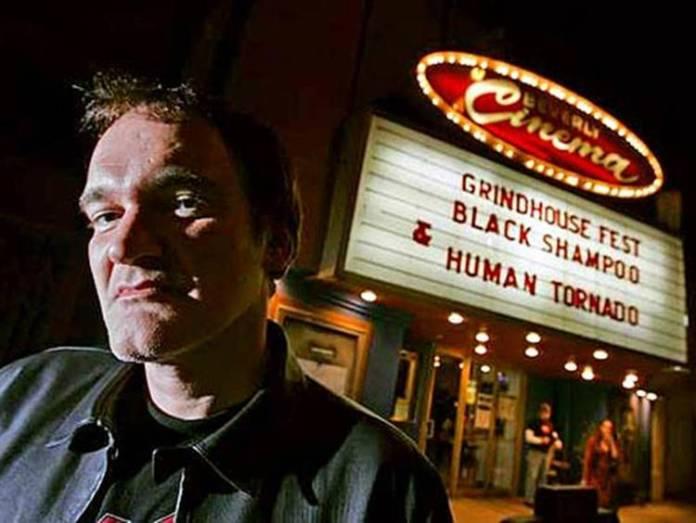 Quentin Tarantino frente a su cine