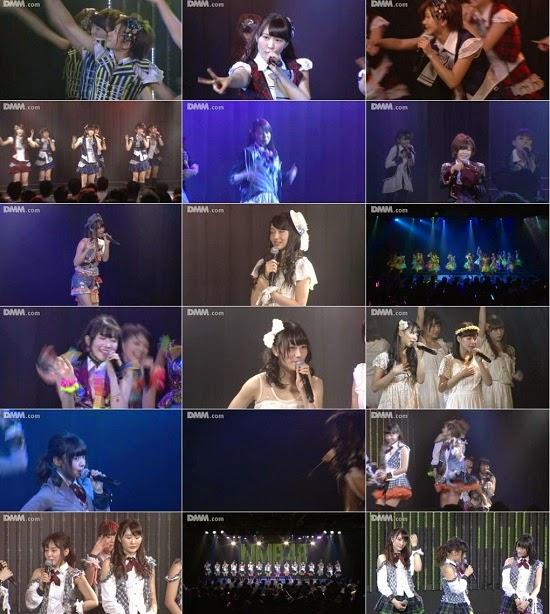 "(LIVE)(公演) NMB48 チームM ""RESET"" 公演 141212"