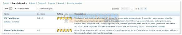 Cara Install dan setting Plugin W3 Total Cache