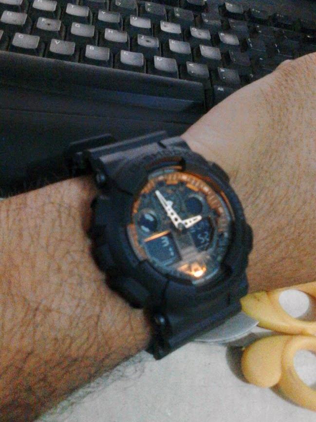 review jam tangan casio g-shock ga-100