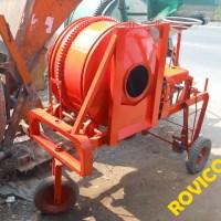 Máy trộn bê tông tự hành gia công cho Công ty Hải Vân