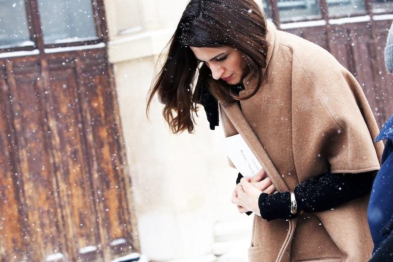 *Paris Fashion Week Fall/Winter 2013 Street Style:Nam巴黎時裝週街拍! 4