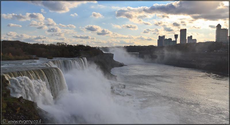 Америка 2.0 / День второй / Ниагарские водопады