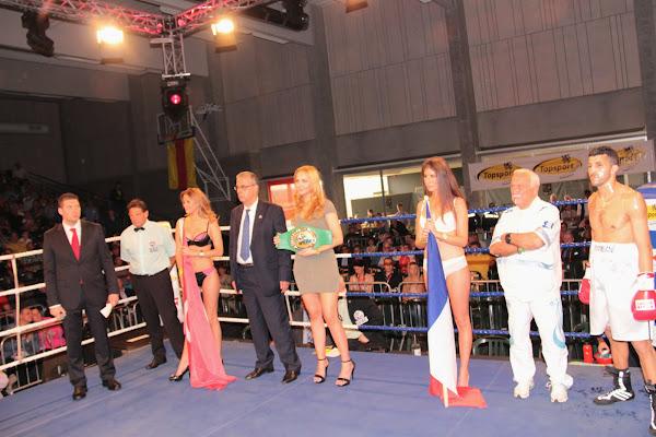 WBC Mediterranean lightweight titel tussen Slimani & Hamdani