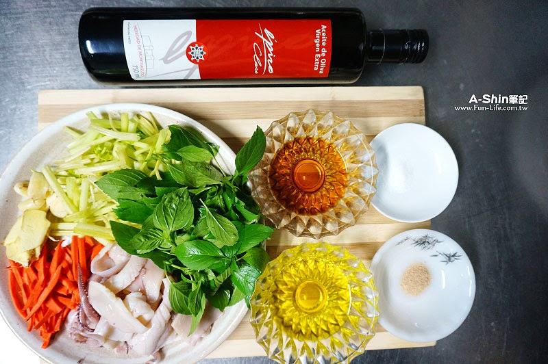 愛比諾橄欖油,芹菜炒透抽-3