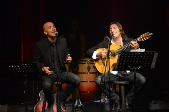 פבלו ואנטוניו, לטינו מתקתק. צילום: יובל אראל