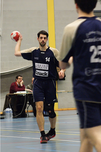 speler Knack Handbalteam Roeselare