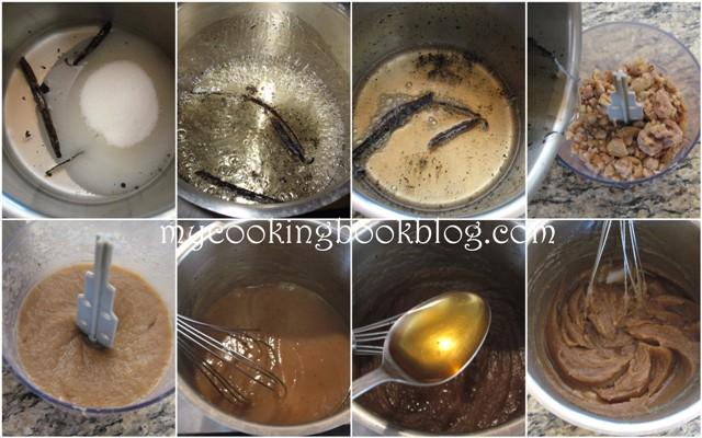 Сладък дип, крем или мармалад от кестени