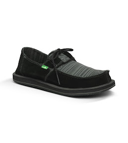 #Sanuk 麂皮民俗異材拼接:RAMBLER一孔鞋! 2
