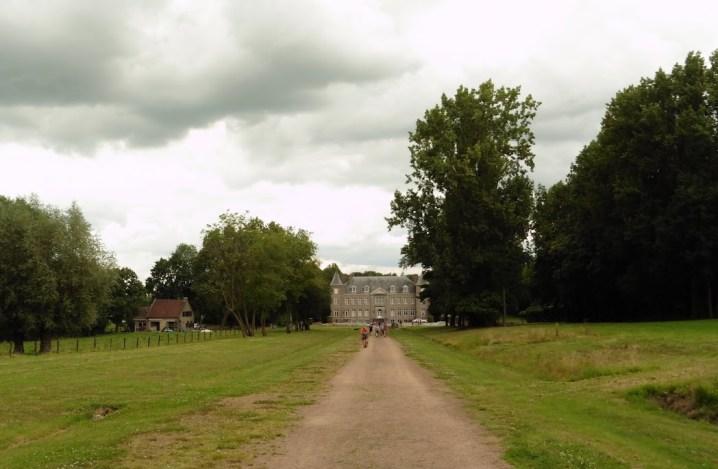 het kasteel van Geluveld