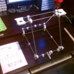 My First day of building my MakerGear RepRap Prusa Mendel was a blast! I told work…
