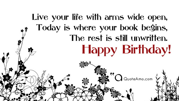 Happy Birthday Video Wishes And Messages Quote Amo Happy Birthday Wisdom Wishes