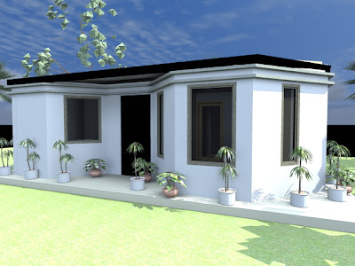 The Most Efficient House In Kenya Diamond House Plan A4architect Com