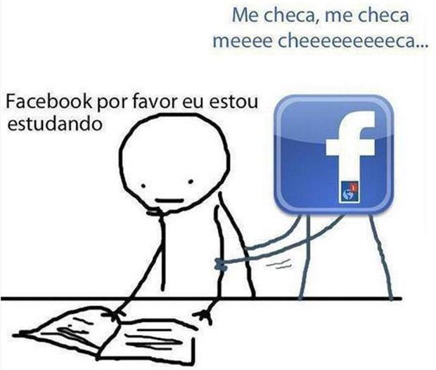 O Facebook pede: Me cheeca