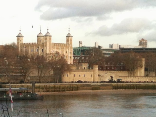 Tower of London view from More London