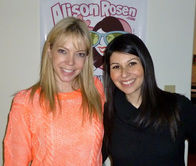 On The Fourth Episode Of Alison Rosen Is Your New Best Friend Actress Comedian Member Of Funny Musical Duo Garfunkel And Oates And Fellow Podcast Host