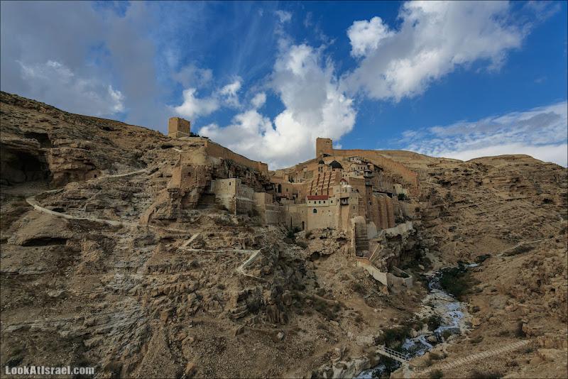 Мар Саба вечна. Три чуда в одном монастыре и чертова гора Азазель