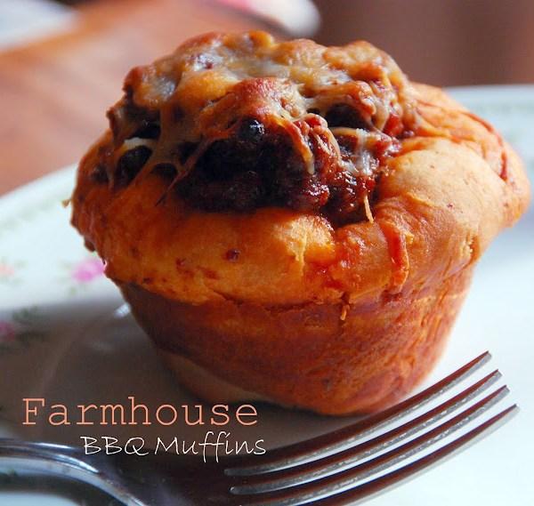 Farmhouse BBQ Muffins