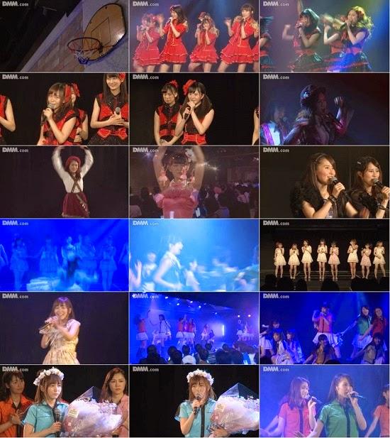 """(LIVE)(公演) SKE48 チームKII """"ラムネの飲み方"""" 大場美奈の生誕祭 150407"""