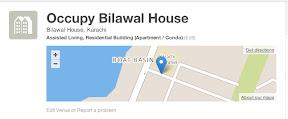 Occupy Bilawal House