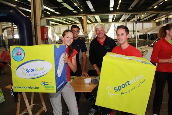 sportelen tijdens West-Vlaanderens Mooiste 2014