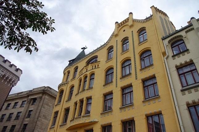 Qué ver en Riga. El gato de Riga