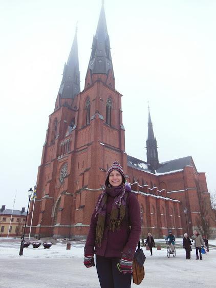 Uppsala Cathedral. Uppsala, Sweden