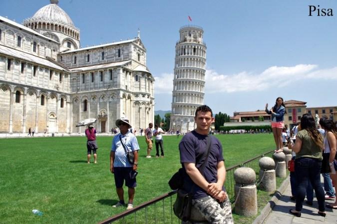 Ruta por la Toscana y norte de Italia. Pisa