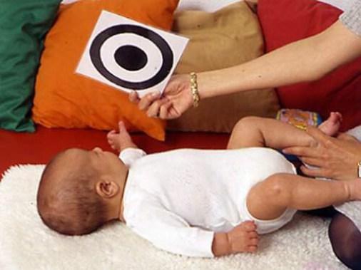 Estimulación visual en bebés y niños