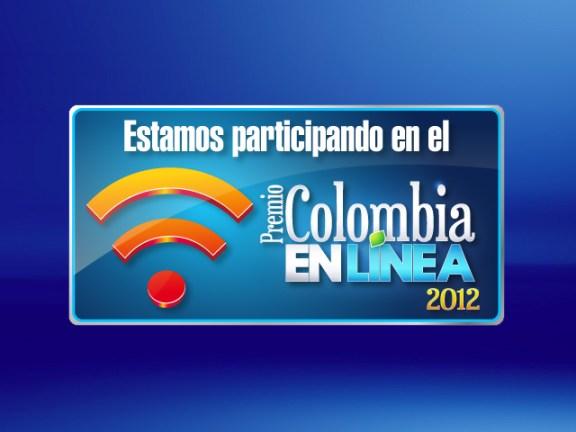 Premio Colombia en línea 2012