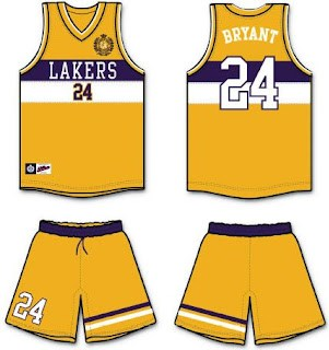 Tommy Hilfiger Lakers jersey