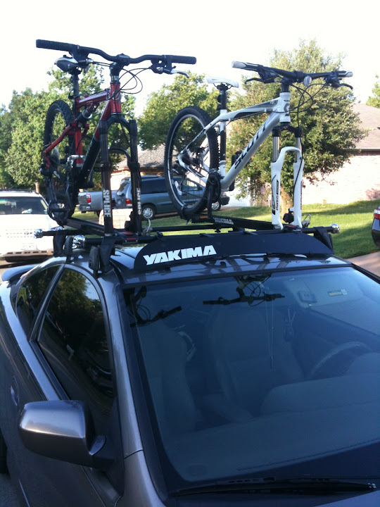 complete yakima roof rack for rsx