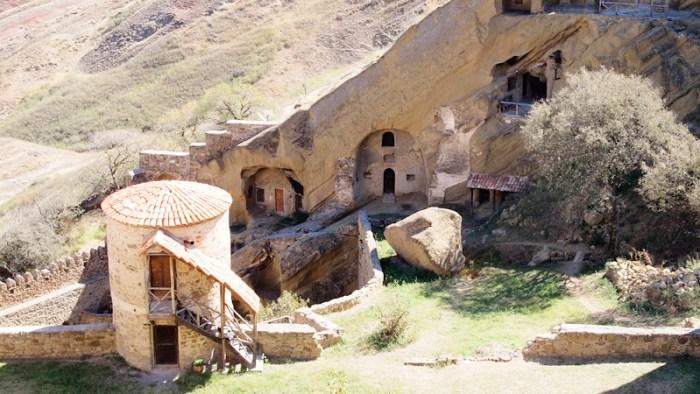 David Gareja, the monastery courtyard