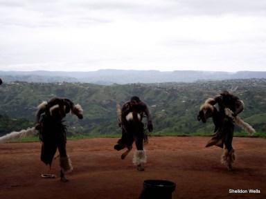 Zulu Dancers at PheZulu Safari Park