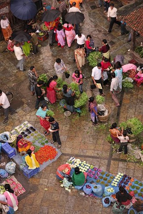 durbar square market palce