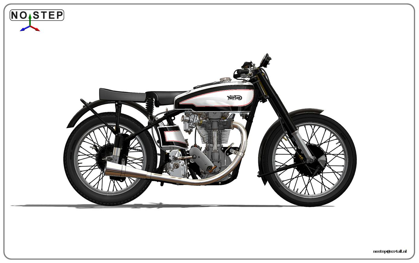 The Dutch Vintage Motorcycle Association Norton Manx