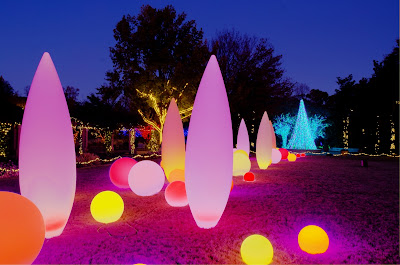 Inpark Magazine Led Solutions From Lighting Science Group And Cooper Lighting Brighten Atlanta Botanical Garden For The Holidays