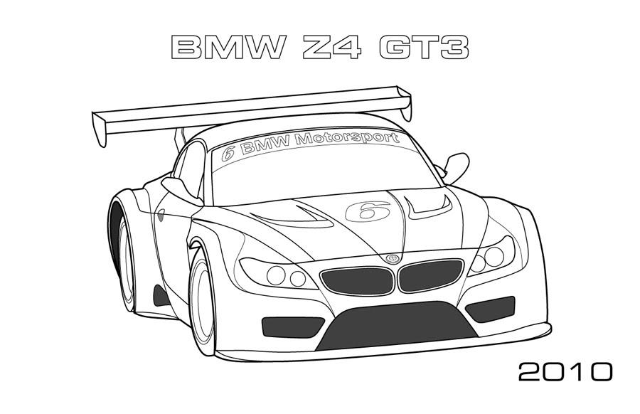 bmw z4 gt3 car pages