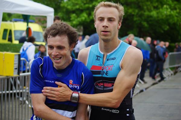 Goewaart Oplinus en Thijs Vander Meiren in de 30e Dwars door de Zilten, 4 juni 2014