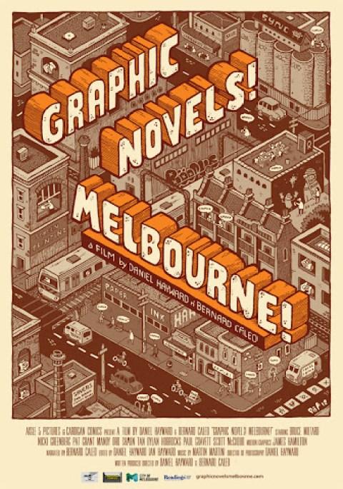 Graphic Novels Melbourne film poster
