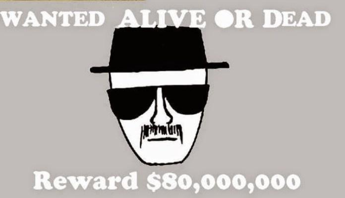 Heisenberg fue el personaje más buscado en todo Albuquerque y el estado de Nuevo Mexico