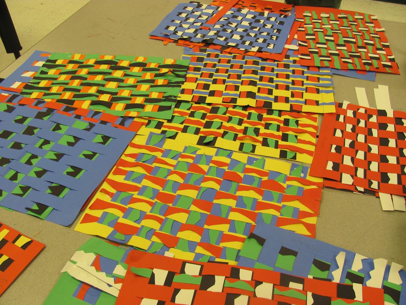Elementary Scribbles Kente Cloth