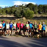 Trail desde Aigües (19-Mayo-2013)