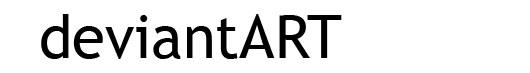Trebuchet logo font deviantART