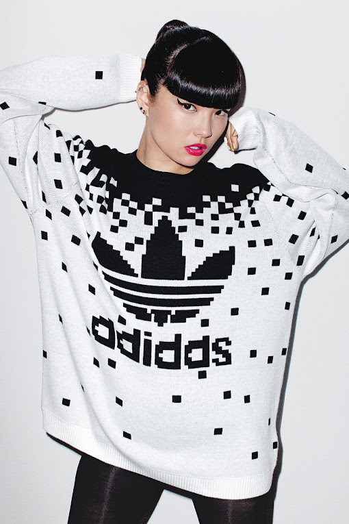 *看著都暈頭轉向了:adidas Originals x Jeremy Scott 2013 喧嘩秋冬 9