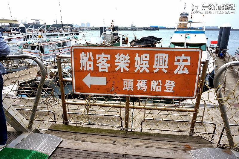 台中梧棲港搭遊艇16