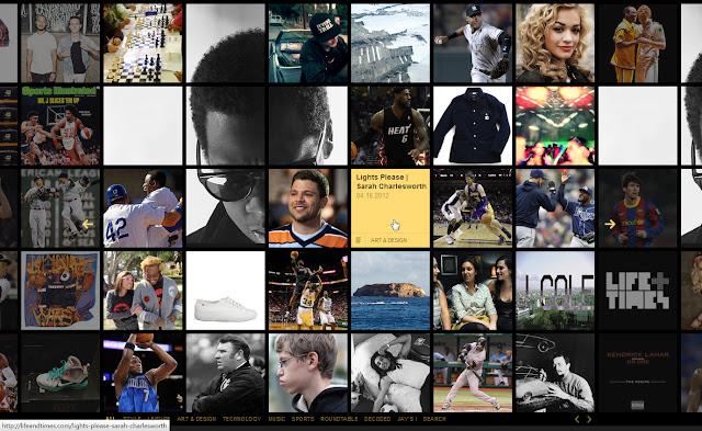 *馬賽克牆風格的歌手官網|Jay-Z Web Site 2
